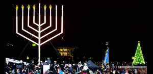 National Menorah Lighting